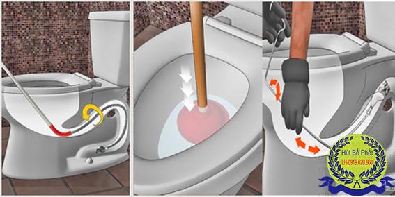 Thông tắc vệ sinh đơn giản nhất